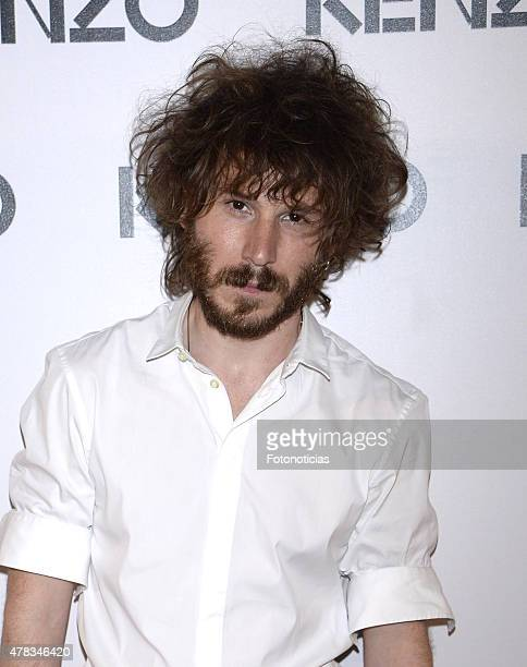 Ruben Ochandiano attends the Kenzo Summer Party at Giner de los Rios Foundation on June 24 2015 in Madrid Spain