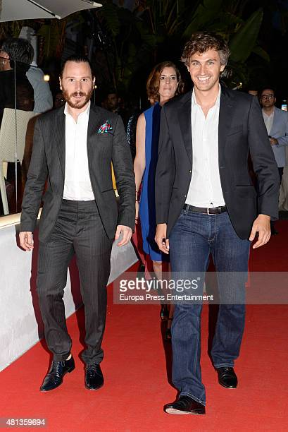 Ruben Ochandiano attends the Platino Awards Welcome Dinner on July 17 2015 in Marbella Spain