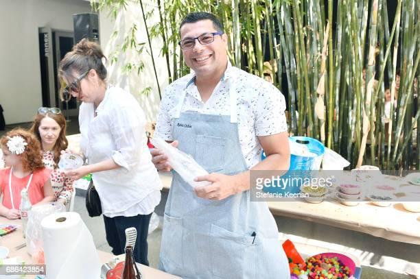 Ruben Ochoa attends Hammer Museum KAMP 2017 on May 21 2017 in Los Angeles California