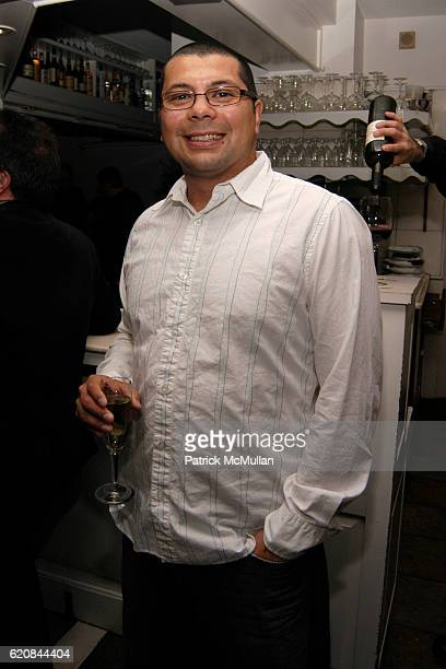 Ruben Ochoa attends Whitney Biennial Artists Party at Trata Estiatoria on March 8 2008 in New York City