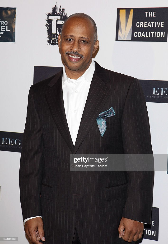 Ruben Santiago Hudson arrives to The Creative Coalition's 'Spotlight Initiative The Fifty Dinner' held at On Sunset Restaurant Luxe Hotel on December...