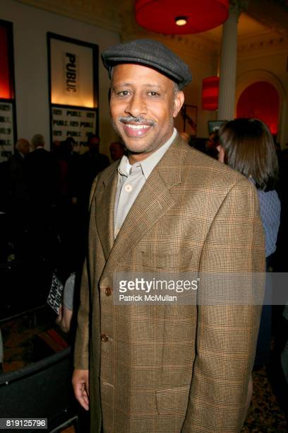 Ruben Santiago Hudson attends THE PUBLIC THEATRE Kicks Off Building Renovations and Launches CAPITAL CAMPAIGN With CEREMONIAL GROUNDBREAKING at The...