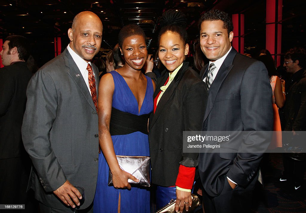 <a gi-track='captionPersonalityLinkClicked' href=/galleries/search?phrase=Ruben+Santiago-Hudson&family=editorial&specificpeople=223882 ng-click='$event.stopPropagation()'>Ruben Santiago-Hudson</a> and Roslyn Ruff attend the 28th Annual Lucille Lortel Awards After Party on May 5, 2013 in New York City.