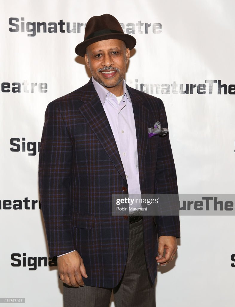 Ruben SantiagoHudson attends the 'Kung Fu' opening night party at Signature Theatre Company's The Pershing Square Signature Center on February 24...