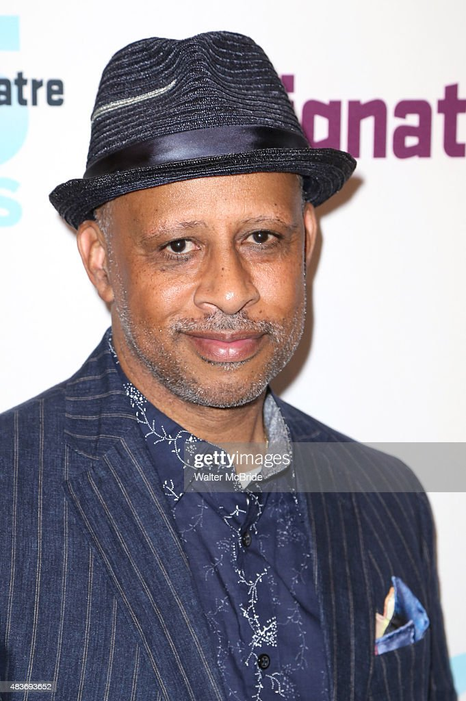 Ruben SantiagoHudson attends the opening night party for 'John' at Signature Theatre Company's Pershing Square Signature Center on August 11 2015 in...