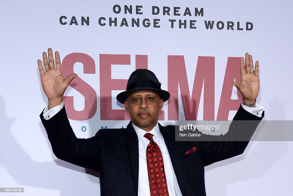 Ruben SantiagoHudson attends the 'Selma' New York Premiere at Ziegfeld Theater on December 14 2014 in New York City