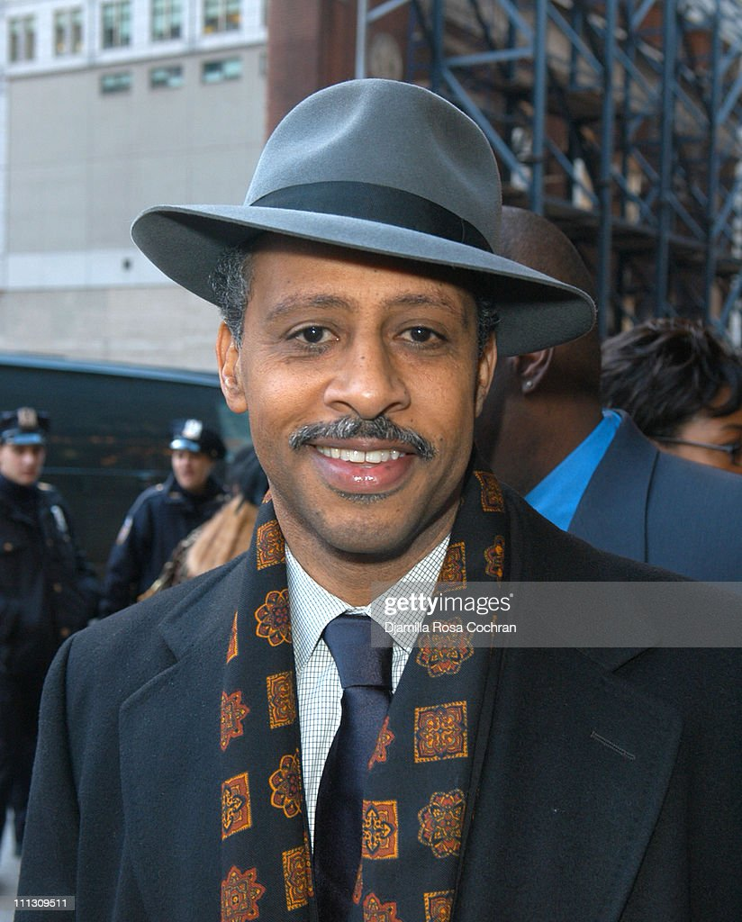 Ruben SantiagoHudson during Woodie King Jr's New Federal Theater 35th Anniversary Gala Benefit at Town Hall in New York City New York United States