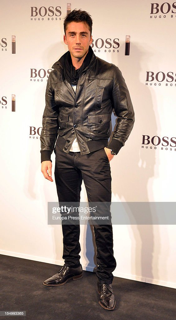 Ruben Sanz attends the launch of 'Boss Nuit Pour Femme' fragrance on October 29, 2012 in Madrid, Spain.