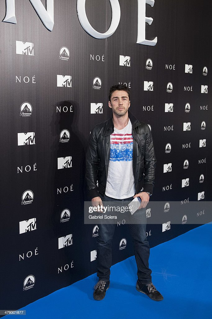 Ruben Sanz attends the 'Noe' Madrid Premiere at Palafox Cinema on March 17, 2014 in Madrid, Spain.