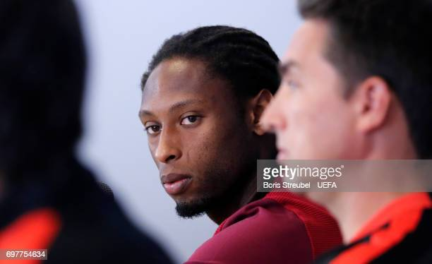 Ruben Semedo of Portugal attends the MD1 Press conference at Gdynia Sports Arena on June 19 2017 in Gdynia Poland