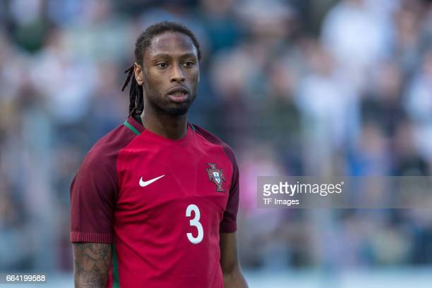 Ruben Semedo of Portugal looks on during the International Friendly match between Germany U21 and Portugal U21 at GaziStadion on March 28 2017 in...