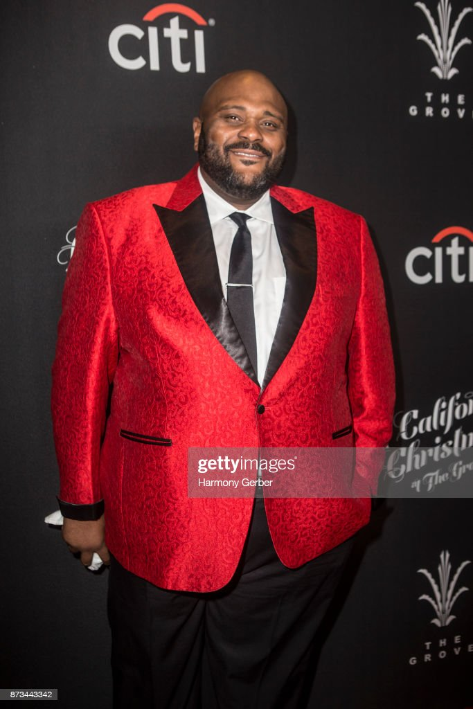 Ruben Studdard attends the California Christmas at The Grove on November 12, 2017 in Los Angeles, California.