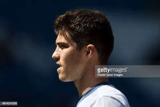 Ruben Yanez of Real Madrid in training prior to the La Liga match between Real Madrid and Deportivo Alaves at the Santiago Bernabeu Stadium on 02...