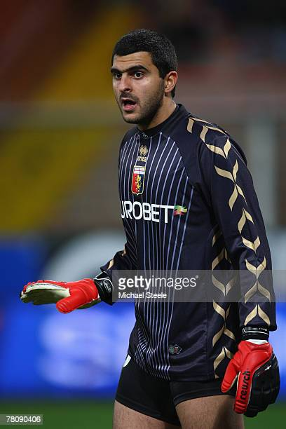 Rubens Rubinho of Genoa during the Serie A match between Genoa and Roma at the Stadio Luigi Ferraris on November 24 2007 in GenoaItaly