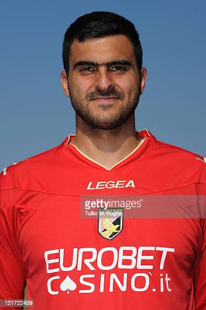 Rubinho of US Citta di Palermo poses during a portrait session for the team's official headshots at Tenente Carmelo Onorato Sports Center on August...