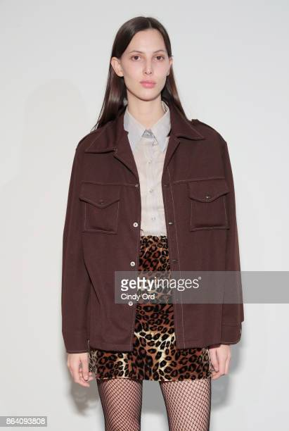 Ruby Aldridge attends Hudson Jean SS18 Preview Hosted by Kaia Gerber on October 20 2017 in New York City