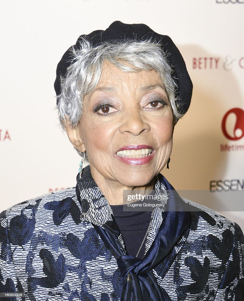 Ruby Dee attends the 'Betty & Coretta' premiere at Tribeca Cinemas on January 28, 2013 in New York City.