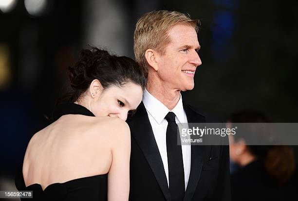 Ruby Modine and Matthew Modine attend the Closing Ceremony Red Carpet during the 7th Rome Film Festival at the Auditorium Parco Della Musica on...