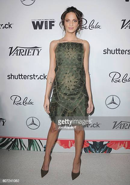 Ruby Modine arrives at Variety And Women In Film's PreEmmy Celebration at Gracias Madre on September 16 2016 in West Hollywood California