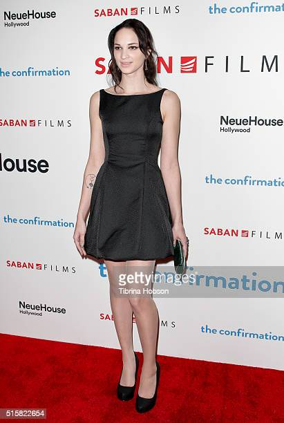 Ruby Modine attends the premiere of Saban Films' 'The Confirmation' on March 15 2016 in Los Angeles California