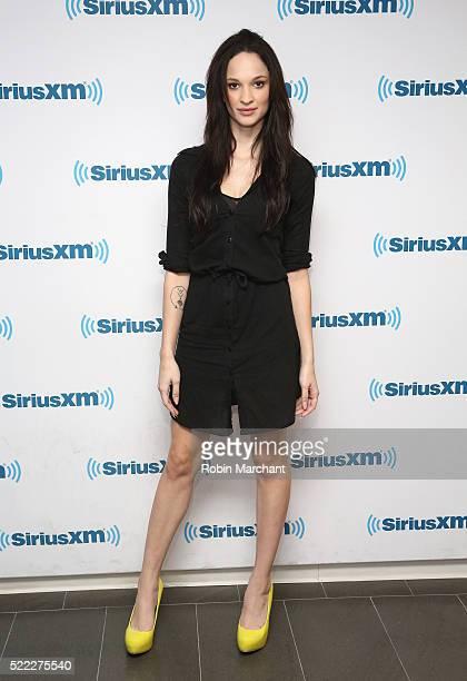 Ruby Modine visits at SiriusXM Studio on April 18 2016 in New York City