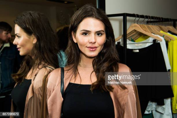 Ruby O Fee attends the BaSh store opening on March 23 2017 in Berlin Germany