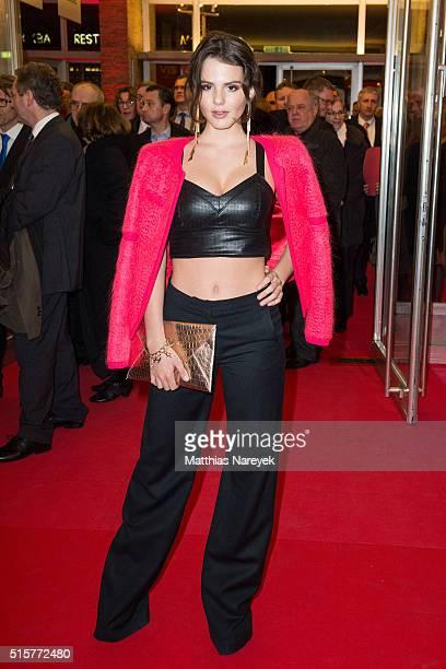 Ruby O Fee attends the Deutscher Hoerfilmpreis at Kino International on March 15 2016 in Berlin Germany
