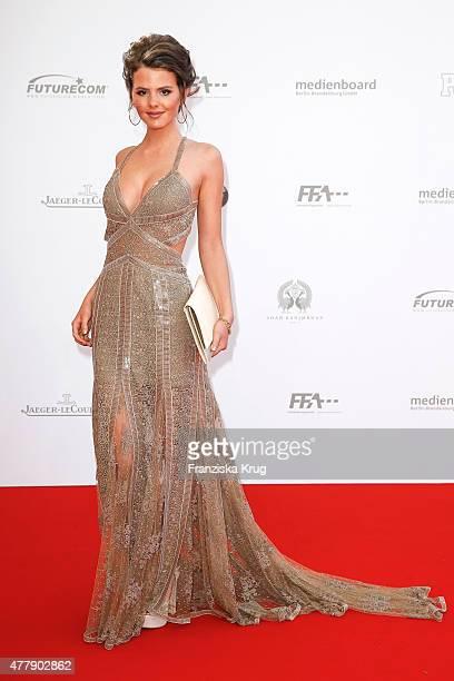 Ruby O Fee attends the German Film Award 2015 Lola at Messe Berlin on June 19 2015 in Berlin Germany
