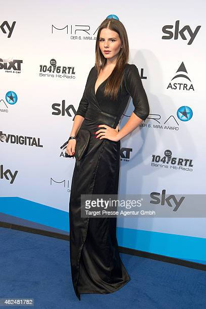 Ruby O Fee attends the Mira award 2015 at Station on January 29 2015 in Berlin Germany