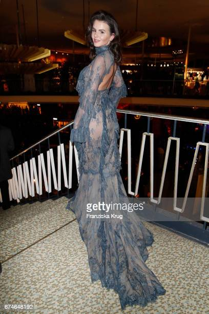 Ruby O Fee during the Lola German Film Award party at Messe Berlin on April 28 2017 in Berlin Germany
