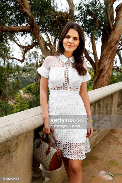 Image has been digitally retouched Ruby O Fee poses at the German Pre Oscar Reception in Pacific Palisades CA on February 25 2017