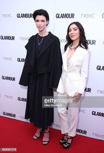 Ruby Rose and Jessica Origliasso attend the Glamour Women of The Year awards 2017 at Berkeley Square Gardens on June 6 2017 in London England