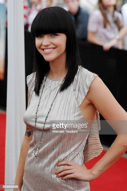 Ruby Rose arrives for the Australian premiere of 'Quantum of Solace' at the Hoyts Cinema in the Entertainment Quarter on November 15 2008 in Sydney...