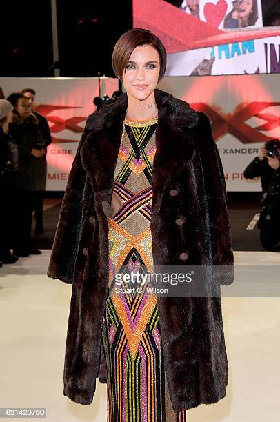 Ruby Rose attends the European Premiere of Paramount Pictures' 'xXx Return of Xander Cage' on January 10 2017 in London United Kingdom
