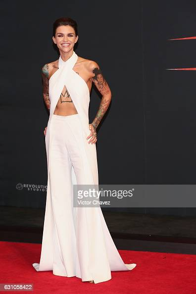 Ruby Rose attends the Mexico City Premiere of the Paramount Pictures 'xXx Return of Xander Cage' at Auditorio Nacional on January 5 2017 in Mexico...