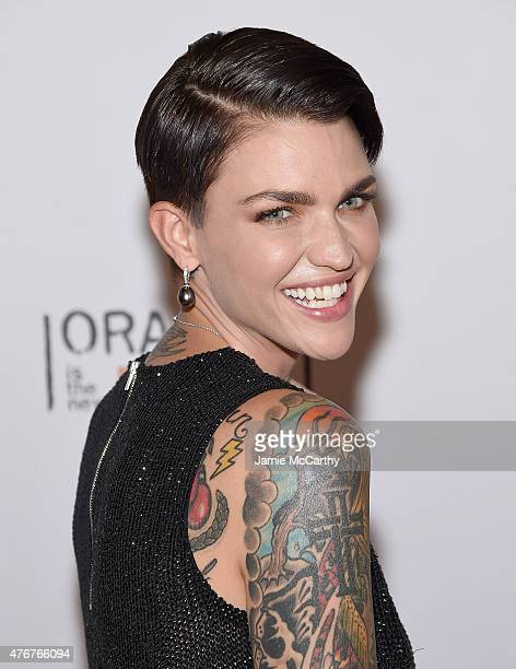 Ruby Rose attends the 'Orangecon' Fan Event at Skylight Clarkson SQ on June 11 2015 in New York City