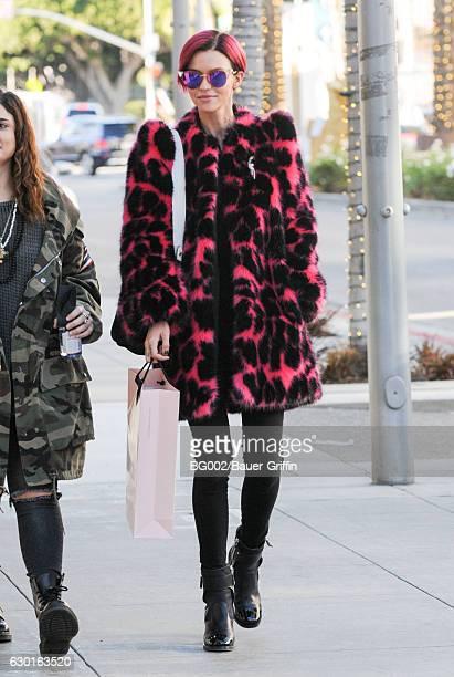 Ruby Rose is seen on December 17 2016 in Los Angeles California