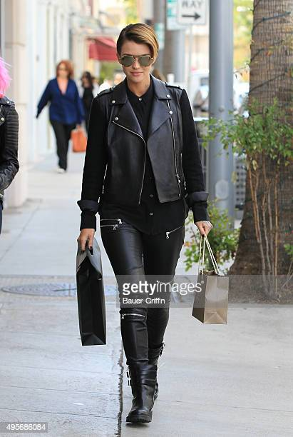 Ruby Rose is seen on November 04 2015 in Los Angeles California