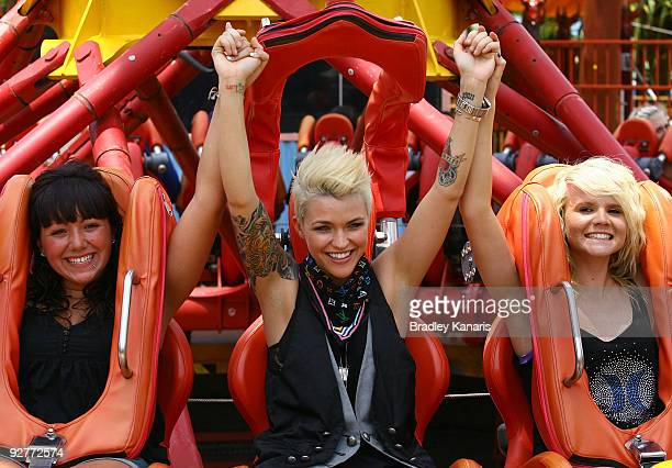 Ruby Rose launches Dreamworld's new summer attraction where MTV will broadcast live from the popular theme park from December 26 to January 22 at...