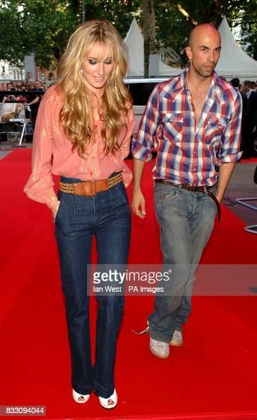 Ruby Stewart and Ian Lockwood arrive for the UK Premiere of Die Hard 40 at The Empire Cinema in Leicester Square central London