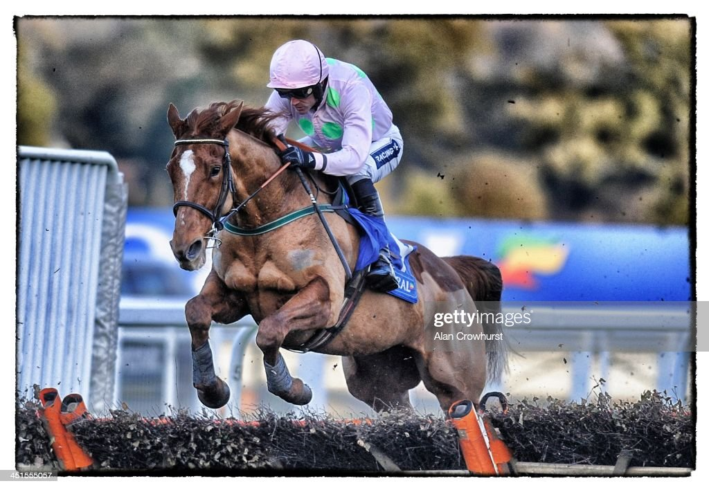 Ruby Walsh riding Annie Power on their way to winning The Coral Hurdle Race Ascot racecourse on November 23, 2013 in Ascot, England.