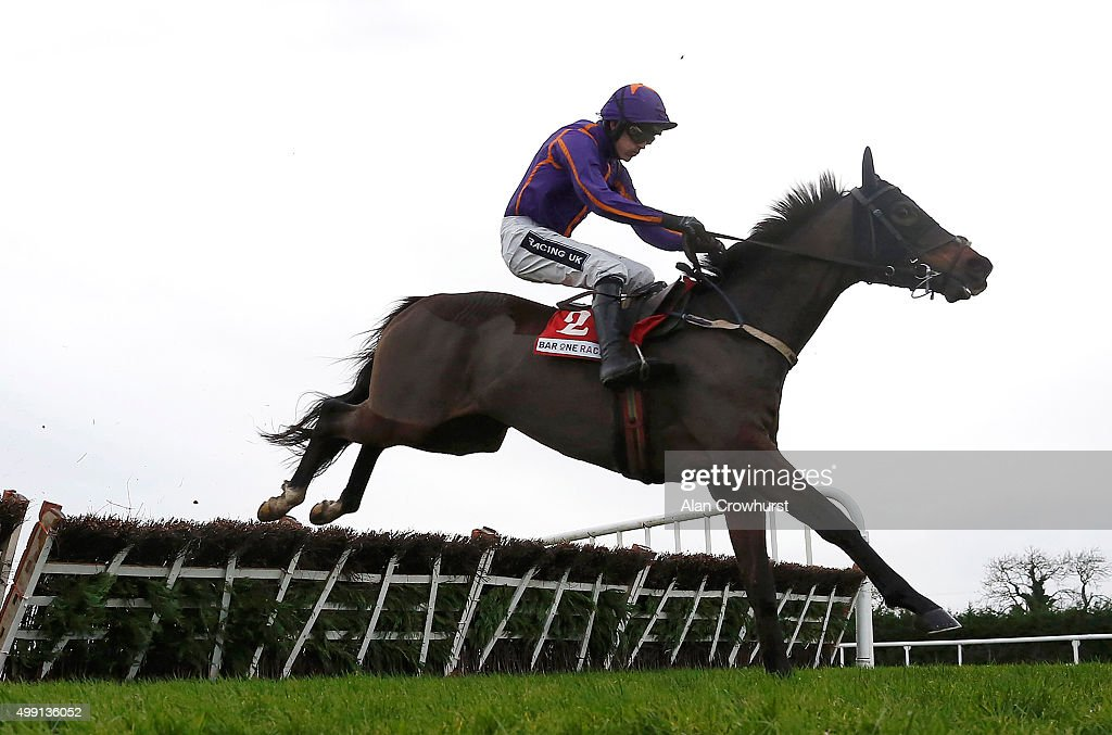 Ruby Walsh riding Arctic Fire clear the last to win The Bar One Racing Hatton's Grace Hurdle Race at Fairyhouse racecourse on November 29, 2015 in Ratoath, Ireland.