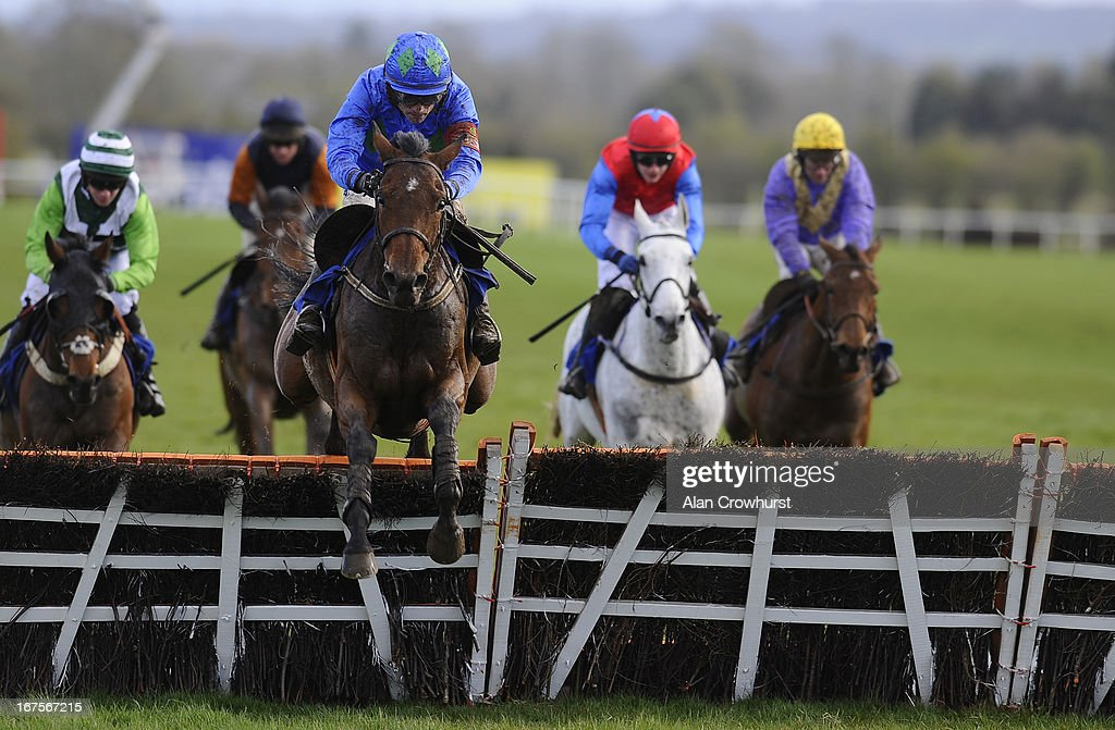 <a gi-track='captionPersonalityLinkClicked' href=/galleries/search?phrase=Ruby+Walsh&family=editorial&specificpeople=171838 ng-click='$event.stopPropagation()'>Ruby Walsh</a> riding Hurricane Fly clear the last to win The Rabobank Champion Hurdle at Punchestown racecourse on April 26, 2013 in Naas, Ireland.