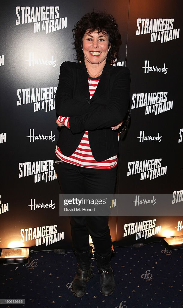 Ruby Wax attends an after party following the press night performance of 'Strangers On A Train' at the Cafe de Paris on November 19, 2013 in London, England.