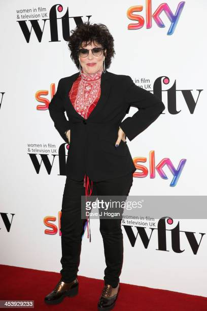 Ruby Wax attends The Sky Women in Film and Television awards 2013 at The Hilton Park Lane on December 6 2013 in London England