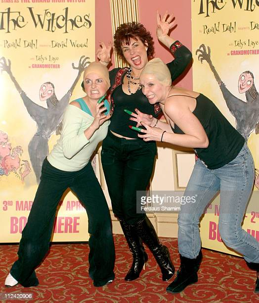 Ruby Wax during Ruby Wax Stars as The Grand High Witch in 'The Witches' by Roald Dahl at Duke Of York Theatre in London Great Britain