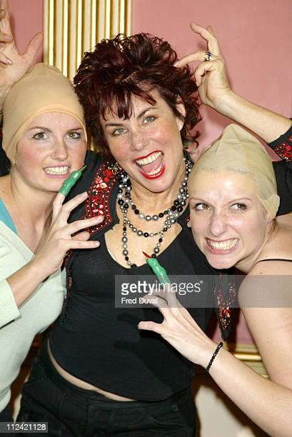 Ruby Wax during Ruby Wax Stars as The Grand High Witch in 'The Witches' by Roald Dahl at Wyndhams Theatre in London United Kingdom