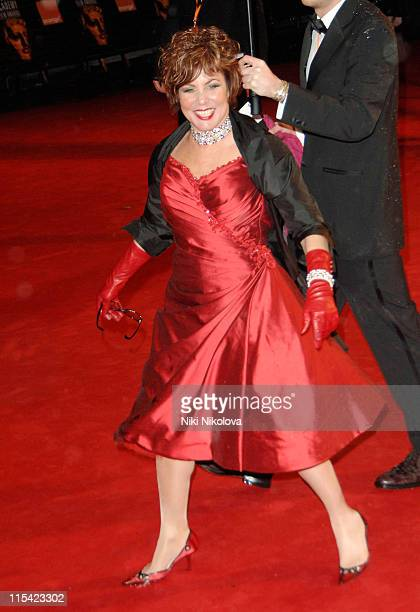 Ruby Wax during The Orange British Academy Film Awards 2006 Arrivals at Odeon Leicester Square in London Great Britain