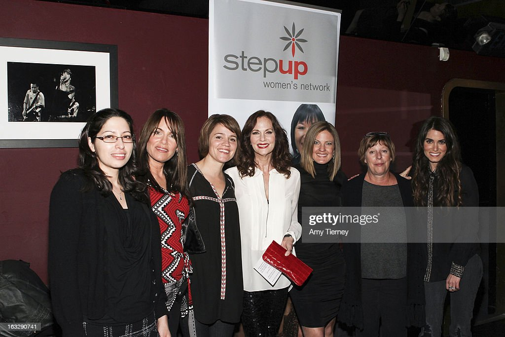 Ruby Zamora, Jeanne Elfant Festa, Anna Belknap, Lesley Ann Warren, Daniella Peters, Karries Keyes, and Nikki Reed attend the Step Up Women's Network Women Who Rock Event at The Roxy Theatre on March 6, 2013 in West Hollywood, California.
