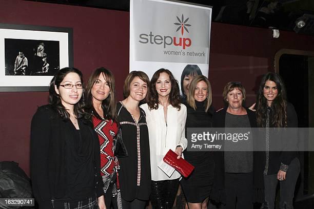 Ruby Zamora Jeanne Elfant Festa Anna Belknap Lesley Ann Warren Daniella Peters Karries Keyes and Nikki Reed attend the Step Up Women's Network Women...